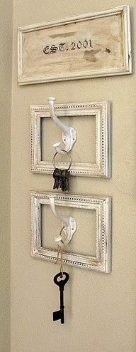 old frames make awesome accents