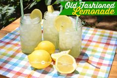 Old Fashioned Lemonade – and the folks who have it figured out ~ http://www.southernplate.com