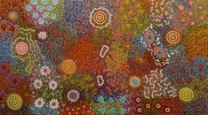 Amazing Australian Aboriginal Artwork by Michelle Possum Nungurrayi / Women's Dreaming is the title of the painting. Aboriginal Artwork, Australia, Painting, Painting Art, Paintings, Drawings