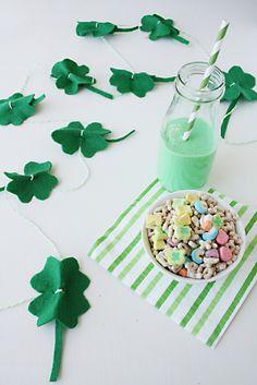 Lucky shamrock St Patricks Day DIY
