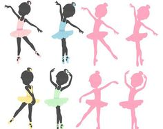 Cute art set of ballerinas in various poses and positions.  Format: 300 dpi JPG and transparent PNG files (No physical products will be sent).  All images will be sent automatically to your Etsy account and Etsy email after your purchase.  The graphics are intended for personal and small business use. Please read the terms for allowed uses here: https://www.etsy.com/shop/cocoamint/policy  Please email or convo me and I will answer any questions you have. Thanks!  © Cocoa Mint