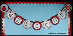 I love this banner! www.ClassroomInspirations.com