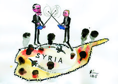 Ilian Savkov  (2015-10-01)  More air strikes and further military escalation and confrontation in Syria.  From Dialogue To Duel