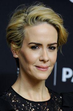 Sarah Paulson Messy Cut - Short Hairstyles Lookbook - StyleBistro