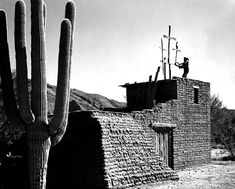 In 1952, DeGrazia built the Mission in the Sun as the first building constructed on the property in memory of Padre Eusebio Kino, a Jesuit priest, and dedicated the mission to Our Lady of Guadalupe. Following his own building plans, DeGrazia and his friends carefully handcrafted the adobe constructed building. Happy Throwback Thursday! #DeGrazia #Artist #Adobe #Architecture #Tucson #Arizona #AZ #Catalinas #Desert #MissionInTheSun #Mission #Murals #Guadalupe #PadreKino #Frescoes