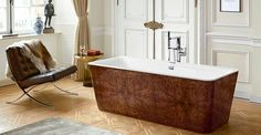 Squaro erge bathtub Deze badkuip is gemaakt van quartz en acryl hars.