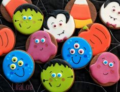 LilaLoa: Easy-Peasy Halloween Cookies