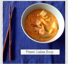 Prawn Laksa Noodle Soup  www.fit-n-fancy.com