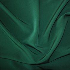 Luxury Crepe - Bottle Green