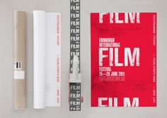 Identity for the 2011 Edinburgh International Film Festival by Berg