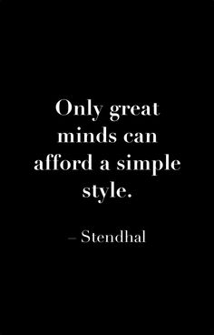 #Stendhal #style #quote