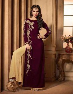 Velvet Maroon Color Incredible Unstitched Salwar Kameez   https://www.designersareesuite.com/catalog/product/view/id/26553/s/velvet-maroon-color-incredible-unstitched-salwar-kameez/category/40/#.VmMCrNIrLIU