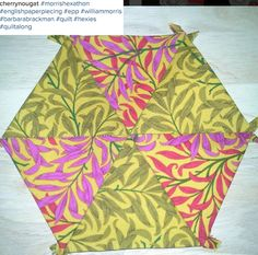 Cherry Nougat posted this Morris Hexathon block on Instagram