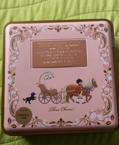M&S Biscuit Tin Princess Charlotte Elizabeth Diana LIMITED EDITION - 2500 / 1315