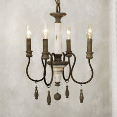 Lark Manor Armande Candle-Style Chandelier Size: Small
