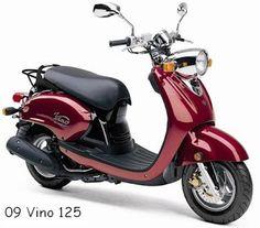 kawasaki scooters vino | 2009 Yamaha Vino Classic - 125cc Yamaha Scooter. My new ride!
