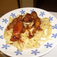 Sweet Garlic Chicken Allrecipes.com