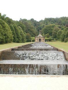 The Cascade, Chatsworth House, Derbyshire, England, UK