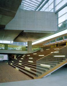architecture grand stair atrium - Google Search