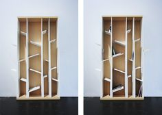 Branques bookshelf by La Selva