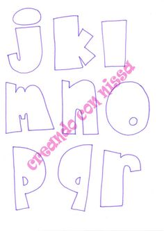 Letras Abcd, Love Coloring Pages, Creative Lettering, Foam Crafts, Embroidery Stitches, Banner, Artsy, Symbols, Scrapbook