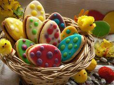 Kuchenne poczynania Moniki: Migdałowo cytrynowe ciasteczka jajeczka Watermelon, Fruit, Food, Essen, Meals, Yemek, Eten