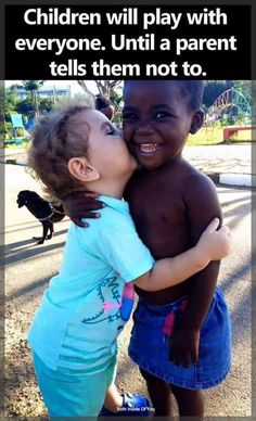 """So true!  I have seen this play out many times ... race, disability, poverty ... we need to remember ... """"and, a small child shall lead them""""!"""