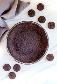 WMF Cutlery And Cookware - One Of The Most Trustworthy Cookware Producers Oreo Cookie Crust 28 Cookies 2 Cups Oreo Cookie Crumbs Used Baked Version Baking Recipes, Dessert Recipes, Potluck Recipes, Pastry Recipes, Cheesecake Recipes, Drink Recipes, Appetizer Recipes, Cookie Recipes, Quiche Crust Recipe