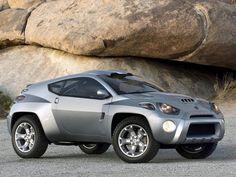Toyota RSC Concept (2001) silver vehicle