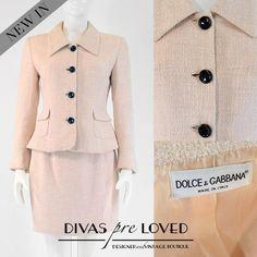 D&G suit at Divas Vintage, Ljubljana