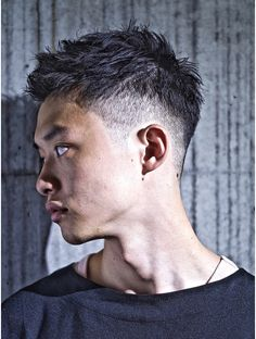 Shorter haircuts are especially common for men, because they are very easy to manage, don't require much maintenance, have very stylish looks, and are suitable for most any situation. Asian Men Short Hairstyle, Mens Ponytail Hairstyles, Asian Man Haircut, Hair And Beard Styles, Short Hair Styles, Gentleman Haircut, Cool Mens Haircuts, Hair Cuts, Japanese Hairstyles