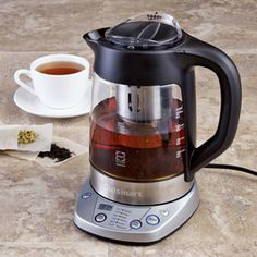 Shop Cuisinart PerfecTemp Electric Kettle & Tea Infuser, TEA-100 at CHEFS.