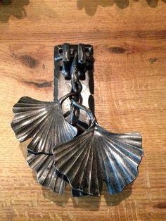 Gingko Leaf Door Knocker
