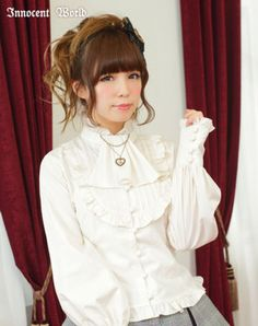 Innocent World Blouse with scurf tie