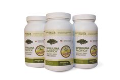 Get our 3 bottle pack of Spirulina Hawaii tablets for great value price -10 %. We ship to all EU, please order via mail at  info@superfood-eshop.eu