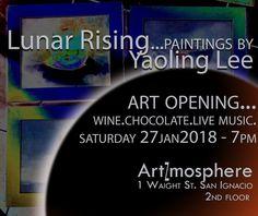 Lunar Rising Art Exhibit