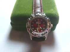 Tommy Hilfiger 300m-1000ft Water Resistant Watch with Leather Band Strap $49.99