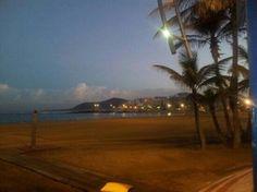 amanecer en playa las canteras : fotografía de Playa de Las ...