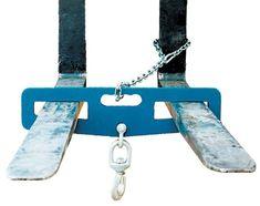 "Vestil LM-HP6-S Swivel Lift Master Hook Plate, 24"" Width, 6"" Height, 6000 lbs Capacity"