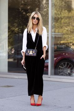 white shirt outfit ideas date layered under dress melodie jeng