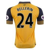 Arsenal FC Away 16-17 Season Soccer Shirt #24 BELLERIN Jersey