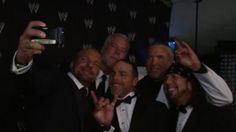 2014 WWE Hall of Fame Inductee Razor Ramon reunites with his best friends Shawn Michaels, Triple H, Kevin Nash & X-Pac.