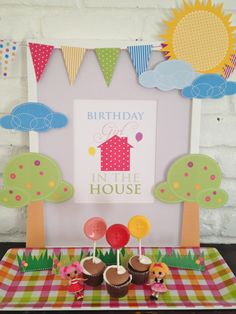 scrap birthday #ideas #inspiration #birthday #party #ideias #inspiracao #festa #aniversario #infantil #decoracao #cor