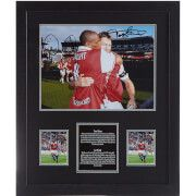 #All Star Signings Tony Adams and Ian Wright Dual Signed and Framed #Tony Adams spent his entire playing career of 22 years as a defender for Arsenal, and is regarded as one of the club™s greatest players of all time by fans and was also included in the Football League 100 Legends. Playing for Arsenal, Tony won four top flight division titles, two Football League Cups, a UEFA Cup Winners™ Cup and three FA Community Shields. Ian Wright played for Arsenal as a forward for seven years, scoring…