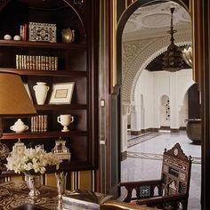 Alberto Pinto, Marrakech. Moroccan Interiors, Moroccan Decor, Moroccan Style, Moroccan Design, Interior Architecture, Interior And Exterior, Marrakech, Villa, Moorish