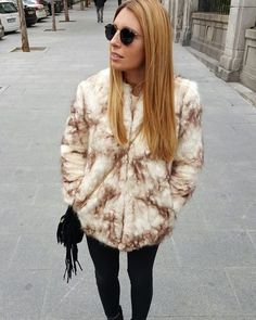 NWT Zara Faux FUR Jacket Coat REF 5070 229 Size L Animal Print Sold OUT | eBay