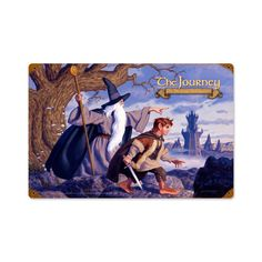 Lord of the Rings – The Journey Metal Sign