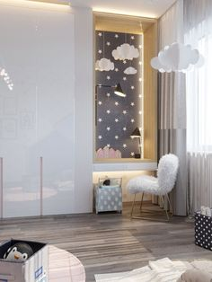 Modern Kids Room Designs For Your Modern Home Girl Room, Girls Bedroom, Baby Room Decor, Bedroom Decor, Bedroom Ideas, Deco Kids, Kids Bedroom Furniture, Kids Room Design, Interior Design Living Room