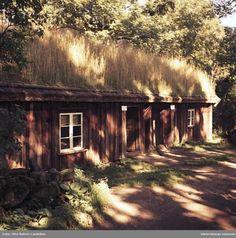 Åsle socken. Backstuga på Åsle Tå. 13 Sept. 1967. @ DigitaltMuseum.se