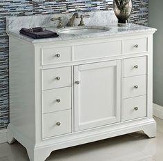 Shirley White Vanity Home Hall Bath Vanity Pinterest